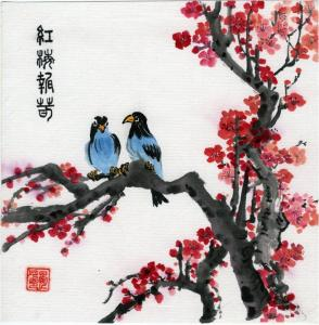 2018 Fall Chinese Brush painting workshop at Artist Guild