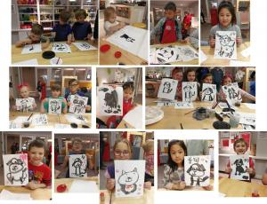 2018 Magic House Chinese brush painting workshop