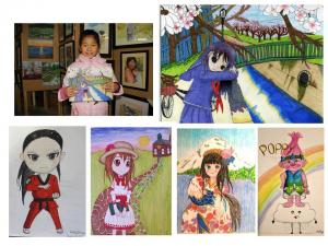 Manga class for children