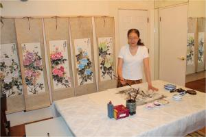 Chinese Brush Painting Workshop at Saint Louis Artist Guild